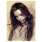 115126-Puzzle-1000-Pcs-Favole-Dark-Rose-HEYE-29430-Victoria-Francés