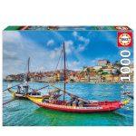118001-Puzzle-1000-Barcos-Rabelos-Porto-EDUCA-17196-a