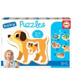 119569-Baby-Puzzle-Animais-Domésticos-EDUCA-17573-cx