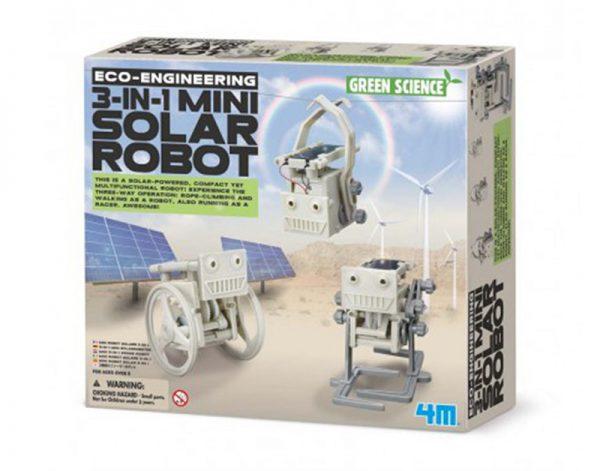 3 in 1 Solar Mini Robot
