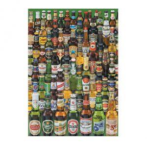Puzzle 1000 Peças da EDUCA colagem de várias cervejas diferentes
