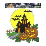 Autocolantes Glitter Halloween – Casa Encantada