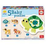 Baby Puzzle Animais Domésticos