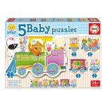 Baby Puzzles – Comboio dos Animais