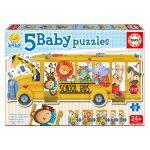 Baby Puzzles – Autocarro de Animais