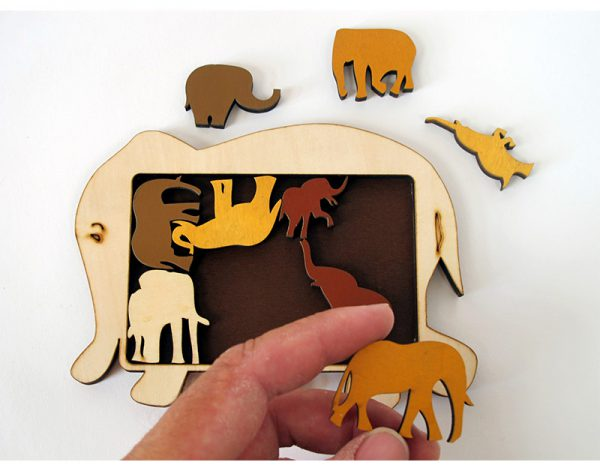 Constantin Puzzles – Elephant Parade2