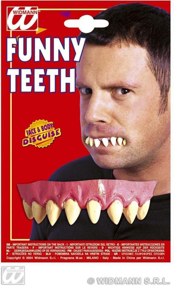 Dentadura divertida