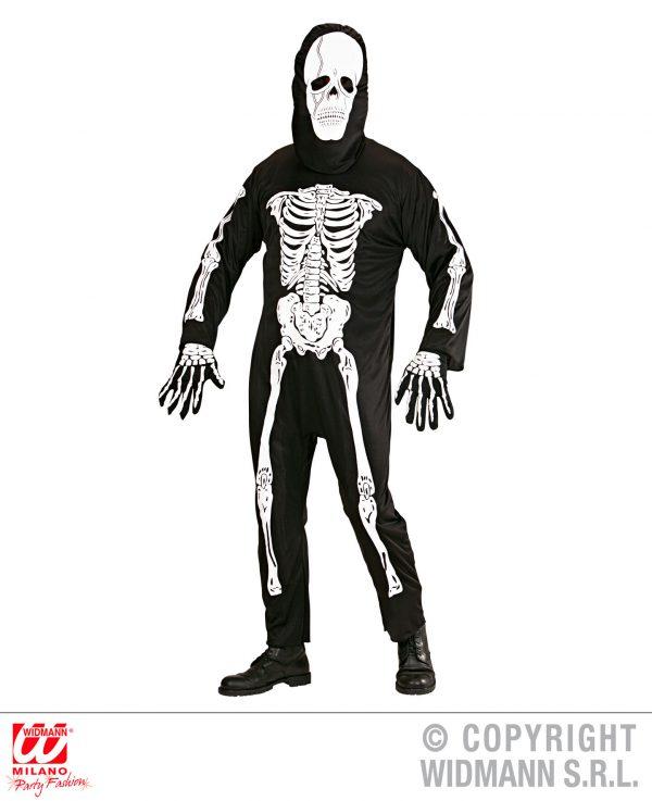 Fato de Esqueleto Adulto Tam S
