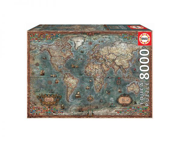 Mapa Histórico do Mundo