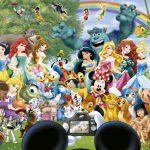 Puzzle 1000 Pcs Mundo Disney 2