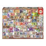 Puzzle 1000 Pcs Notas do Mundo