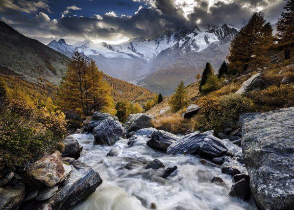Puzzle 1000 Pcs Rojas Mountain Stream2