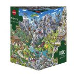 Puzzle 1000 Pcs Tanck, Alpine Fun-1