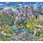 Puzzle 1000 Pcs Tanck, Alpine Fun
