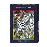 Puzzle 1000 Pcs Tinga Tinga, Zebra