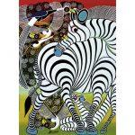 Puzzle 1000 Pcs Tinga Tinga, Zebra2