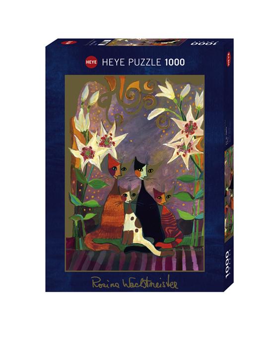 Puzzle 1000 Pcs Wachtm Lilies