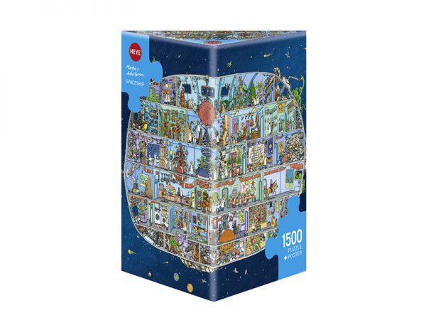 Puzzle 1500 Pcs Adolfsson Spaceship