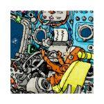 Puzzle 1500 Pcs Adolfsson Spaceship2