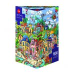 Puzzle 1500 Pcs Berman, Happytown