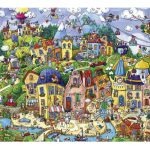 Puzzle 1500 Pcs Berman, Happytown2