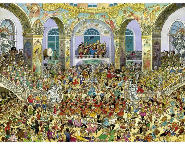 Puzzle 1500 Pcs Prades, Ballroom
