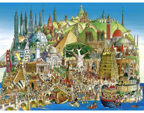 Puzzle 1500 Pcs Prades, Global City