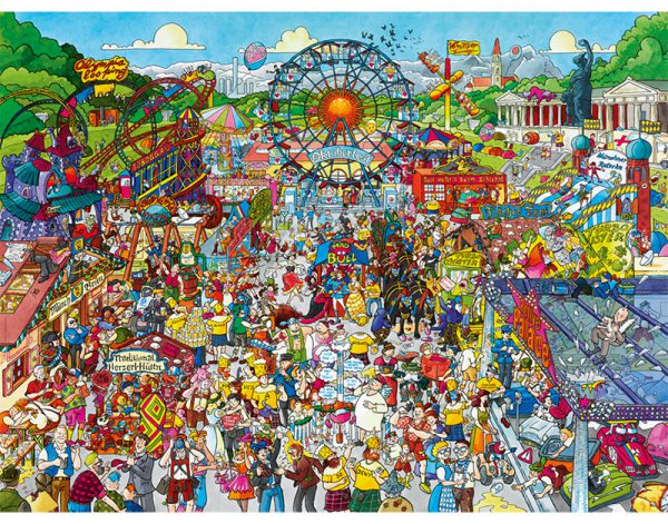 Puzzle 1500 Pcs Schone Oktoberfest