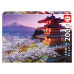 Puzzle 2000 Pcs Monte Fuji Japão