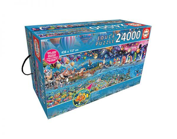 Puzzle 24000 Pcs A Vida, O Maior Puzzle do Mundo