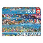 Puzzle 3000 Vida (Fragmento) Panorama