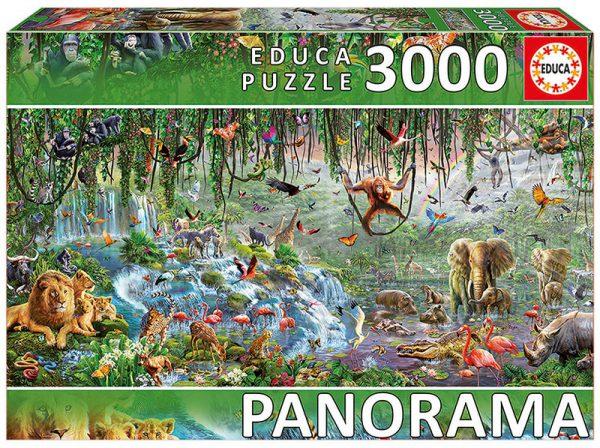 Puzzle 3000 Vida selvagem (Fragmento) ´Panorama´