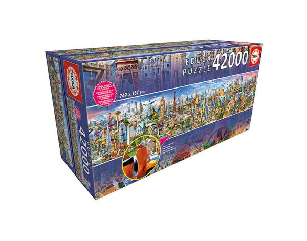 Puzzle 42000 Pcs A Volta ao Mundo