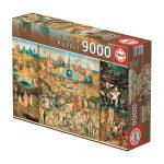 Puzzle 9000 Pcs O Jardim das Delícias
