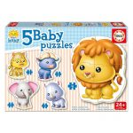 Puzzle Baby Animais Selvagens