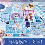 Set 8 em 1 Jogos Frozen