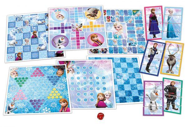 Set 8 em 1 Jogos Frozen2