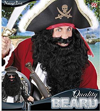 barba preta de pirata