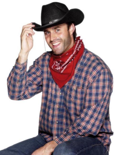 f43cef3ff39a8 Chapéu Cowboy Feltro Preto