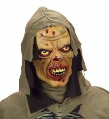 mascara de terror latex
