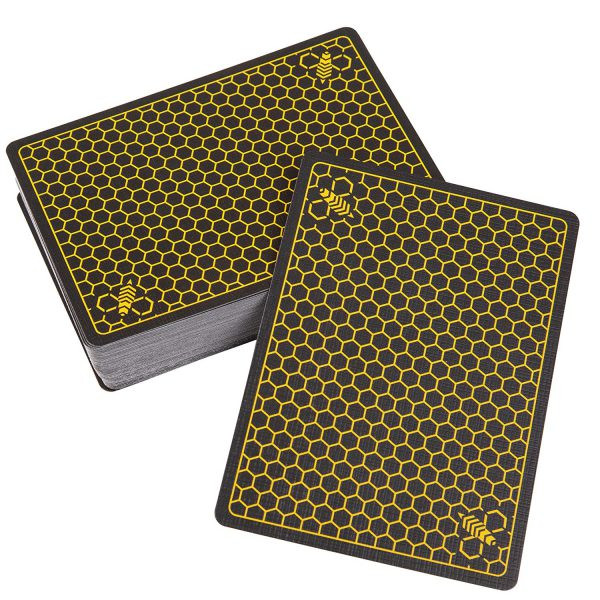 Cartas Bicycle Killer Bees4