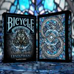 Cartas Bicycle Stained Glass Leviathan