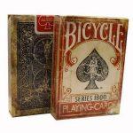 Cartas Bicycle Vintage Series 1800 Red Back