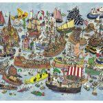 Puzzle 1500 Pcs Adolfsson Regatta