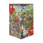 Puzzle 1500 Pcs Prades History River