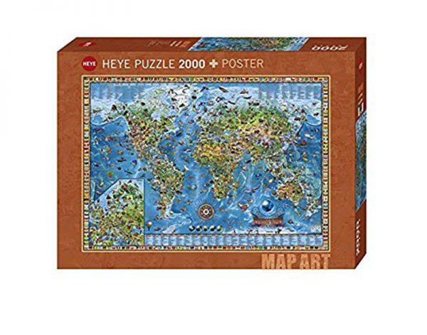 Puzzle 2000 Pcs Amazing World Standard