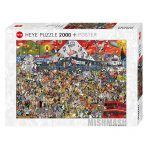 Puzzle 2000 Pcs British Music History