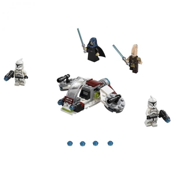 Lego-Star-Wars-Conjunto-De-Combate-Jedi-e-Clone-Troopers-75206