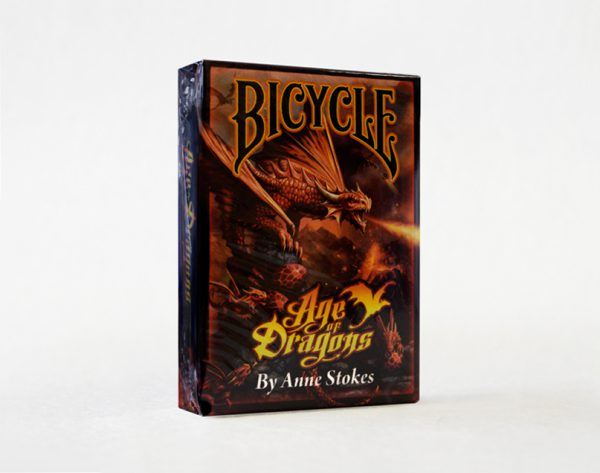 Cartas-Bicycle-Age-Of-Dragons-by-Anne-Strokes_