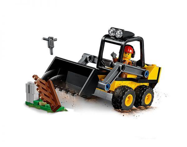 Lego City Trator Carregador De Construção 60219-2